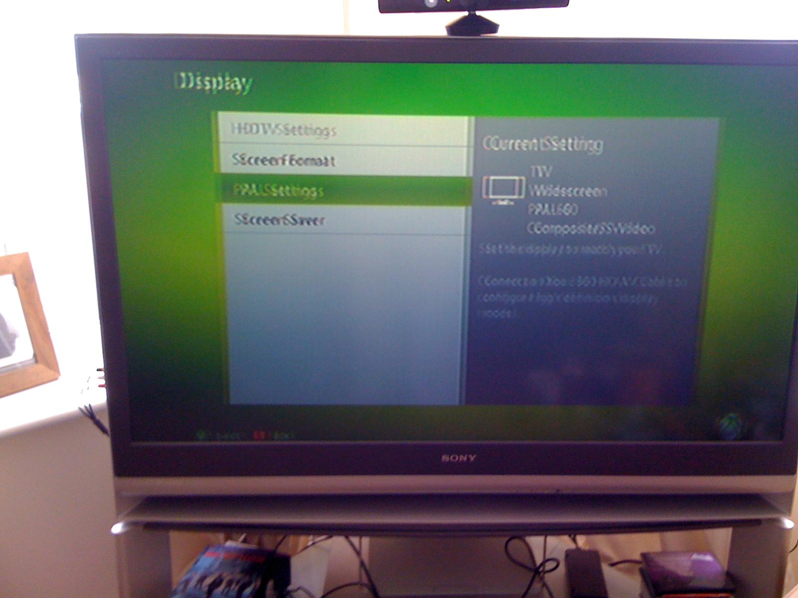 sony bravia rear projection tv problem with xbox - Sony